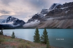Alberta;Banff-National-Park;Canada;Clouds;Mountains;Waterfowl-Lake;water