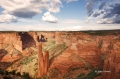 Canyon-de-Chelly;Cottonwoods;Slick-Rocks;Canyon;Arizona;Spider-Rock;Sunset;Red-R