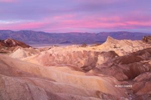 Death-Valley-National-Park;Sunrise;Zabriskie-Point,-Clouds,-Death-Valley-Nationa